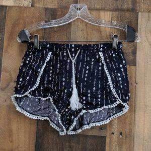 Divided Blue Shorts Size 4